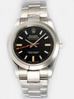 Réplique Rolex Milgauss Black Dial Arabic And Bar Hour M